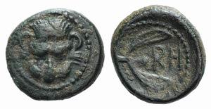 Bruttium, Rhegion, c. 425/0-415/0 BC. Æ ...
