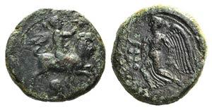 Sicily, Himera, c. 425-409 BC. Æ Hemilitron ...