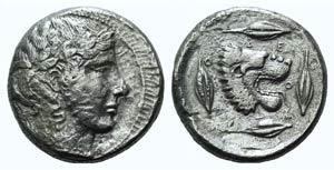 Sicily, Leontini, c. 450-440 BC. AR ...