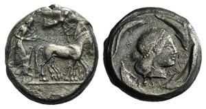 Sicily, Syracuse, c. 485-466 BC. AR ...