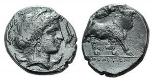 Campania, Neapolis, c. 300 BC. AR Didrachm ...
