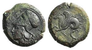 Sicily, Syracuse, 400-390 BC. Æ Hemilitron ...