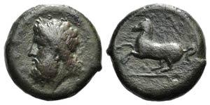 Sicily, Syracuse, c. 339/8-334 BC. Æ ...
