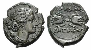 Sicily, Syracuse. Agathokles (317-289 BC). ...