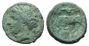 Sicily, Syracuse. Hieron II (275-215 BC). Æ ...