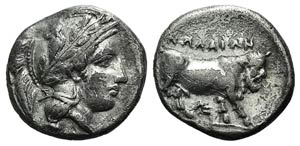 Campania, Nola, c. 400-385 BC. AR Didrachm ...