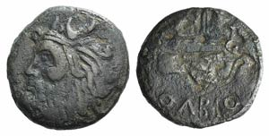 Skythia, Olbia, c. 310-280 BC. Æ (23mm, ...
