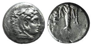 Mysia, Pergamon, c. 310-282 BC. AR Diobol ...