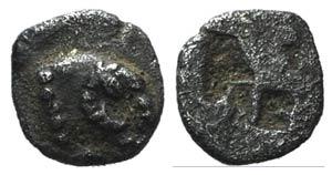 Troas, Kebren, c. 5th century BC. AR ...