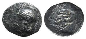 Aeolis, Elaia, c. 450-400 BC. AR Hemiobol ...