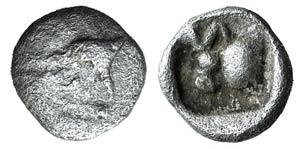 Caria, Uncertain, c. 5th century BC. AR ...