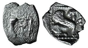 Caria, Uncertain, c. 5th-4th century BC. AR ...