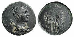 Lydia, Sardis, c. 1st century BC. Æ (23mm, ...