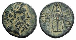 Phrygia, Apameia, c. 100-50 BC. Æ (21mm, ...