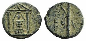 Pamphylia, Perge, c. 50-30 BC. Æ (16mm, ...