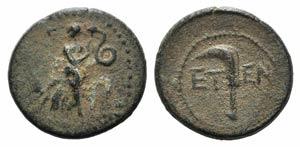 Pisidia, Etenna, 1st century BC. Æ (17mm, ...