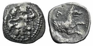 Lycaonia, Laranda, c. 324/3 BC. AR Obol ...