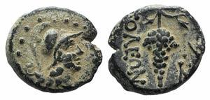 Cilicia, Soloi, c. 100-30 BC. Æ (16mm, ...