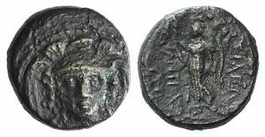 Seleukid Kings, Antiochos I (281-261 BC). Æ ...