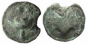 Northern Apulia, Luceria, c. 220 BC. Cast Æ ...