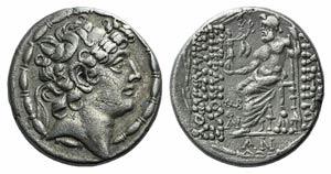 Seleukid Kings, Philip I Philadelphos (c. ...