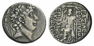 Seleukid Kings, Philip Philadelphos (89-83 ...