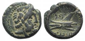 Phoenicia, Arados, c. 137-51 BC. Æ (13mm, ...