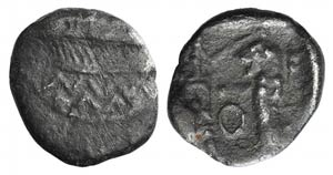 Samaria, 4th Century BC. AR Obol (8mm, ...