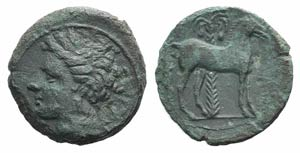 Carthage, c. 400-350 BC. Æ (15.5mm, 3.04g, ...