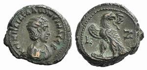 Salonina (Augusta, 254-268). Egypt, ...