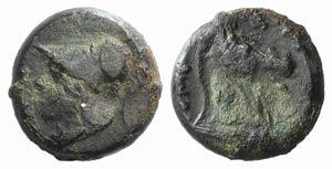 Anonymous, Rome, c. 260 BC. Æ (15mm, 5.57g, ...