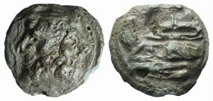 Anonymous, Rome, 215-212 BC. Æ Aes Grave As ...