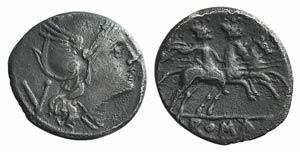Anonymous, Rome, 214-213 BC. AR Quinarius ...