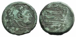 Anonymous, Lucera, c. 214-212 BC. Æ ...