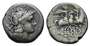 Cn. Domitius Ahenobarbus, Rome, 189-180 BC. ...