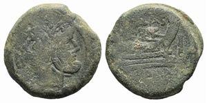 P. Cornelius P.f. Blasio, Rome, 169-158 BC. ...