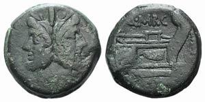 Q. Marcius Libo, Rome, c. 148 BC. Æ As ...
