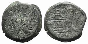 L. Sempronius Pitio, Rome, 148 BC. Æ As ...