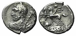 Ti. Quinctius, Rome, 112-111 BC. AR Denarius ...