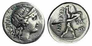 M. Herennius, Rome, 108-107 BC. AR Denarius ...
