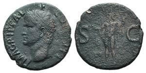Agrippa (died 12 BC). Æ As (28mm, 11.70g, ...