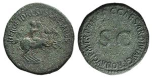 Nero and Drusus Caesar (died AD 31 and 33, ...