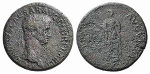 Claudius (41-54). Æ Sestertius (35mm, ...