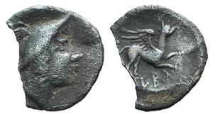 Latium, Alba Fucens, c. 280-275 BC. AR ...