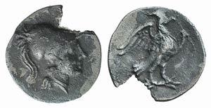 Latium, Alba Fucens, c. 280-275 BC. AR Obol ...