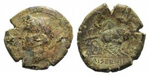 Samnium, Aesernia, c. 263-240 BC. Æ (21mm, ...
