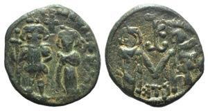 Constans II (641-668). Æ 40 Nummi (22mm, ...