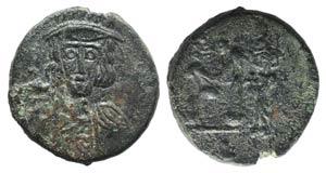 Constantine IV (668-685). Æ 40 Nummi (18mm, ...