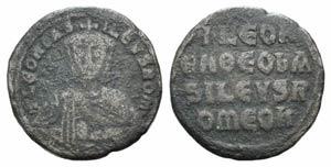 Leo VI (886-912). Æ 40 Nummi (25mm, 6.43g, ...