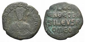 Leo VI (886-912). Æ 40 Nummi (25mm, 5.08g, ...